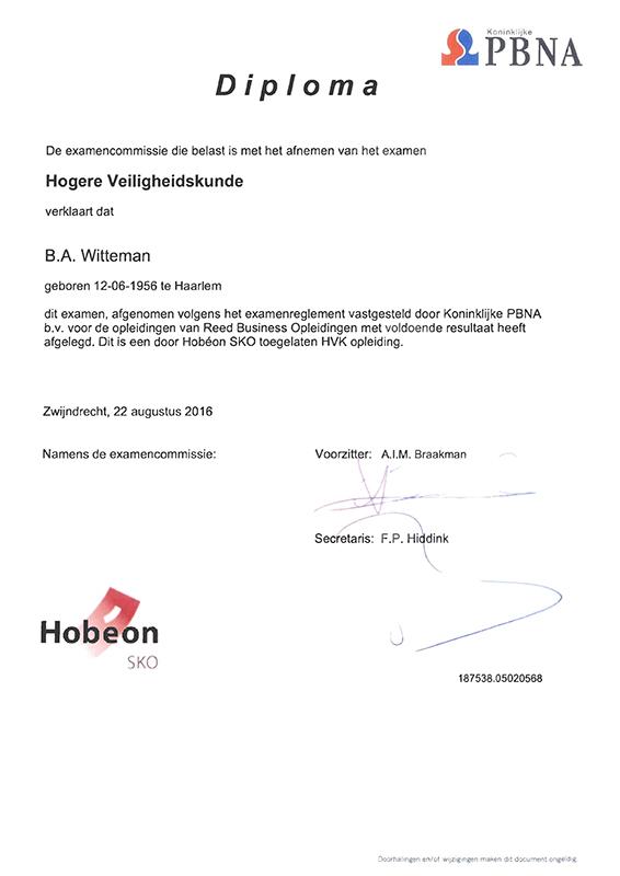 HVK diploma_KL